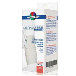 BENDA COMPRESSA ORLATA DI GARZA IDROFILA DERMATESS CAMBRIC 7X5 - Antica Farmacia Del Lago