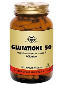 GLUTATIONE 50 30 CAPSULE VEGETALI - La tua farmacia online