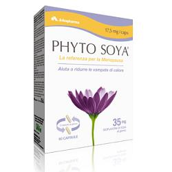 Arkopharma Phyto Soya Integratore Menopausa 60 Capsule 17,5 mg - La tua farmacia online