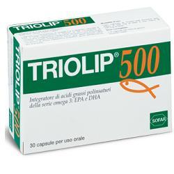 Sofar Triolip 500 Omega 3 Integratore Alimentare 30 Capsule - La tua farmacia online