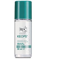 ROC KEOPS DEODORANTE ROLL ON SENZA ALCOOL 30 ML - Farmabravo.it