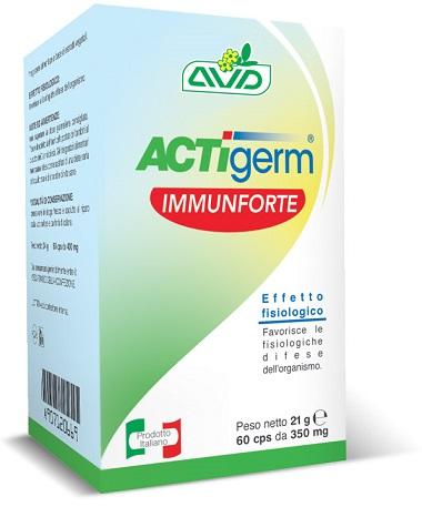 ACTIGERM IMMUNFORTE 60 CAPSULE - FARMAEMPORIO