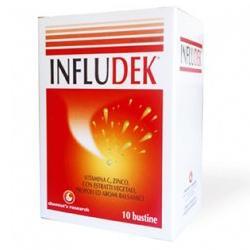 INFLUDEK RAFFREDDORE 10 BUSTINE - Farmacento