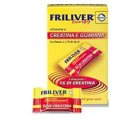FRILIVER ENERGY CREATINA GUARANA 20 TAVOLETTE - Farmamille