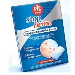 TAMPONE EMOSTATICO STERILE STOP HEMO 5BUSTE - Antica Farmacia Del Lago