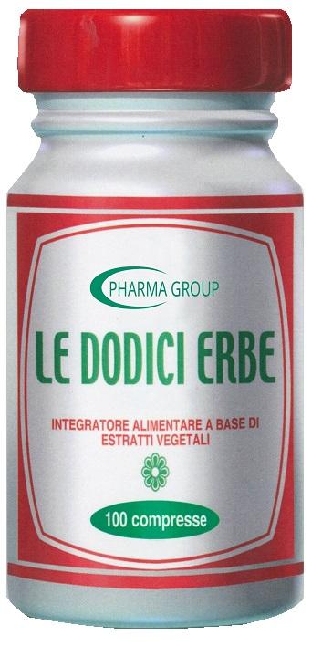 LE DODICI ERBE 100 TAVOLETTE - Farmacia 33