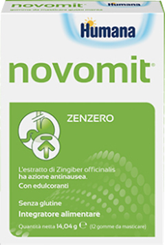 NOVOMIT 12 CHEWING GUM 14,04 G - Zfarmacia