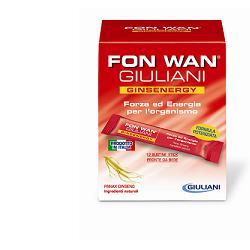 Fon Wan Giuliani GinsEnergy 12 Bustine Stick Pack - La tua farmacia online