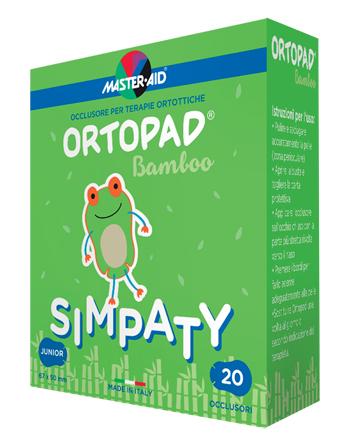 CEROTTO OCULARE PER ORTOTTICA ORTOPAD SIMPATY M 5,4X7,6 50 PEZZI - Farmamille