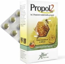PROPOL2 EMF FRAGOLA MIELE 45 TAVOLETTE - Farmacento