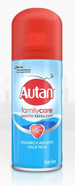 AUTAN FAMILY CARE SPRAY SECCO 100ML - FARMAEMPORIO