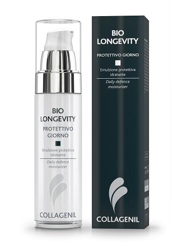 Collagenil Bio Longevity Protettivo Giorno Trattamento Anti-Photoaging Viso 50 ml - La tua farmacia online