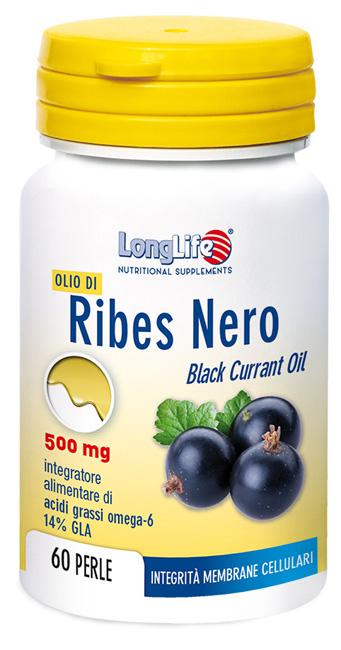 LONGLIFE OLIO RIBES NERO 60 PERLE - Zfarmacia