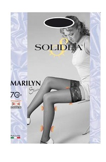 MARILYN 70 SHEER CALZA AUTOREGGENTE CAMMELLO2 - Farmawing
