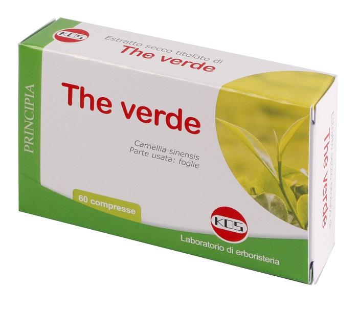 THE VERDE ESTRATTO SECCO 60 COMPRESSE 22,2 G - FARMAEMPORIO