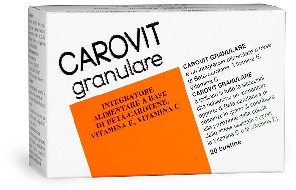 CAROVIT GRANULARE 20 BUSTINE - FARMAEMPORIO
