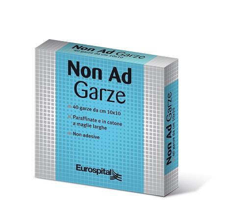 GARZA PARAFFINATA NON AD 10X10 CM 40 PEZZI - Farmacia 33