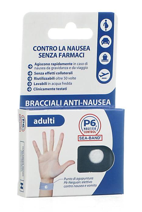 BRACCIALE PER NAUSEA PER ADULTI P6 CONTROL SEABAND - Farmacia 33