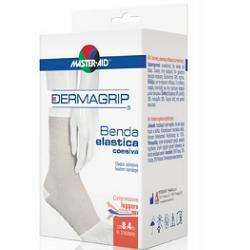 BENDA ELASTICA AUTOBLOCCANTE MASTER-AID DERMAGRIP 10X4 - Antica Farmacia Del Lago