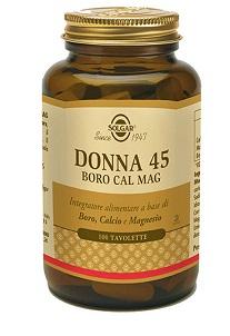Donna 45 Boro Cal Mag 100 Tavolette - Farmalilla