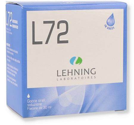 LEHNING L72 GOCCE 30 ML - Farmacia 33