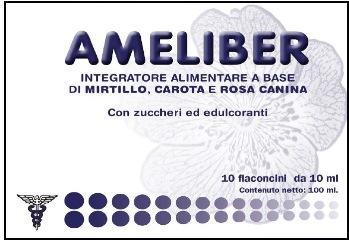 AMELIBER 10 FLACONCINI OROSOLUBILE - La tua farmacia online