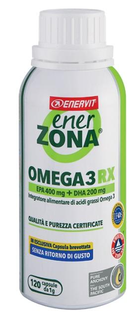 Enerzona Omega 3 RX Integratore Alimentare 120 Capsule - La tua farmacia online