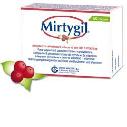 Mirtygil Integratore Alimentare Vie Urinarie 60 Capsule - La tua farmacia online