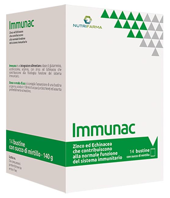 IMMUNAC 14 BUSTINE 10 G - Farmacento