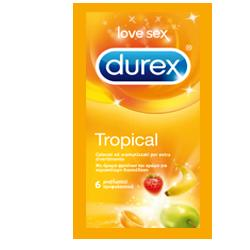 Profilattico Durex Tropical Easy-On 6 Pezzi - Farmalilla