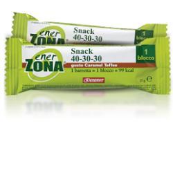 Enervit EnerZona Snack 40-30-30 Gusto Caramel Toffee 25 grammi - La tua farmacia online