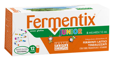 FERMENTIX JUNIOR 12 FLACONCINI 5 MILIARDI - Farmacento