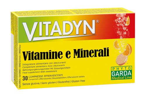 VITADYN MULTIMINERALE MULTIVITAMINICO 30 COMPRESSE EFFERVESCENTI - Farmastar.it