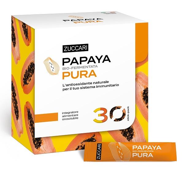 Zuccari Papaya Pura Bio Fermentata 30 bustine - La tua farmacia online