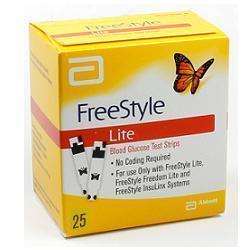 STRISCE MISURAZIONE GLICEMIA FREESTYLE LITE 25 PEZZI - Farmamille
