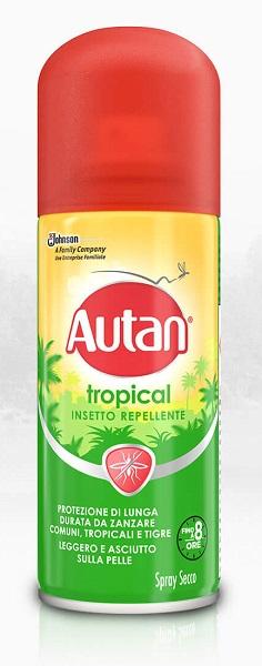 Autan Tropical Spray Secco 100 ml - Farmalilla