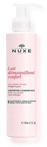 Nuxe Lait Demaquillant Confort Latte Detergente Delicato ai Petali di Rosa 200 ml - La tua farmacia online