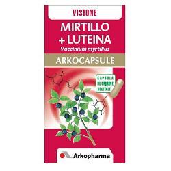 MIRTILLO + LUTEINA 45ARKOCAPSULE - Zfarmacia