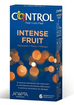 PROFILATTICO CONTROL INTENSE FRUIT 6 PEZZI - FARMAEMPORIO
