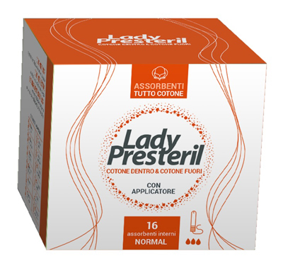 LADY PRESTERIL ASSORBENTI INTERNI NORMAL 16 PEZZI - Farmacia 33