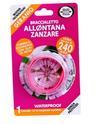 BRACCIALETTO ALLONTANA ZANZARE 240 ORE - Farmaciasconti.it