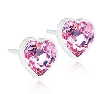 BLOMDAHL GIOIELLO MP HEART 6 MM LIGHT ROSE - La tua farmacia online