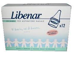 Libenar Ricambi Per Aspiratore Nasale Bambino 12 Pezzi - La tua farmacia online