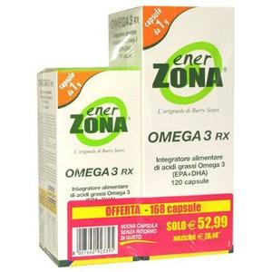 ENERZONA OMEGA 3 RX 120+48 CAPSULE OFFERTA CONVENIENZA - Farmastar.it