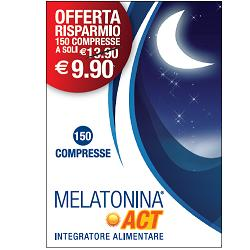MELATONINA ACT 1 MG 150 COMPRESSE - La tua farmacia online