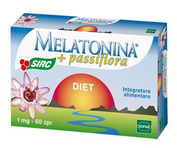 Sofar Melatonina Diet Con Passiflora 60 Compresse Nuova Formulazione - La tua farmacia online