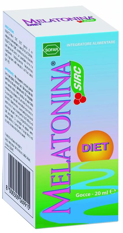MELATONINA GOCCE DIET 20 ML - Farmacia 33