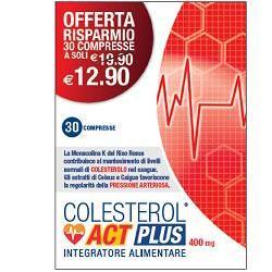 COLESTEROL ACT PLUS 30 COMPRESSE - La tua farmacia online
