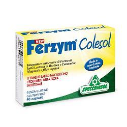 Specchiasol New Ferzym Colesol Integratore Fermenti Lattici 40 Capsule - La tua farmacia online