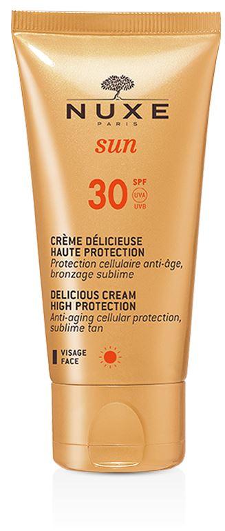 Nuxe Sun Creme Delicieuse Crema Solare SPF 30 Anti-età Viso 50 ml - La tua farmacia online